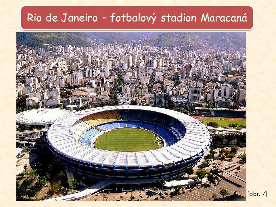 Rio de Janeiro – fotbalový stadion Maracaná