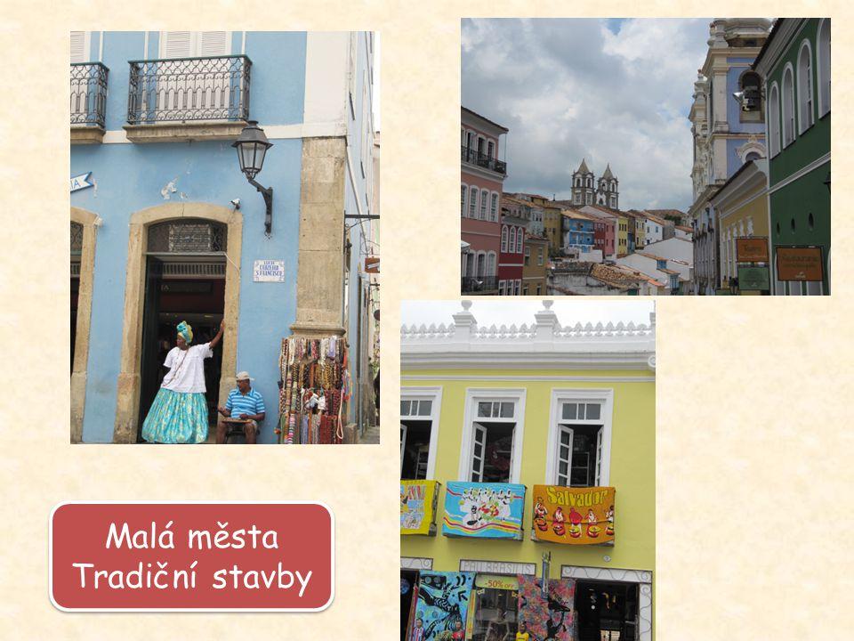 Malá města Tradiční stavby