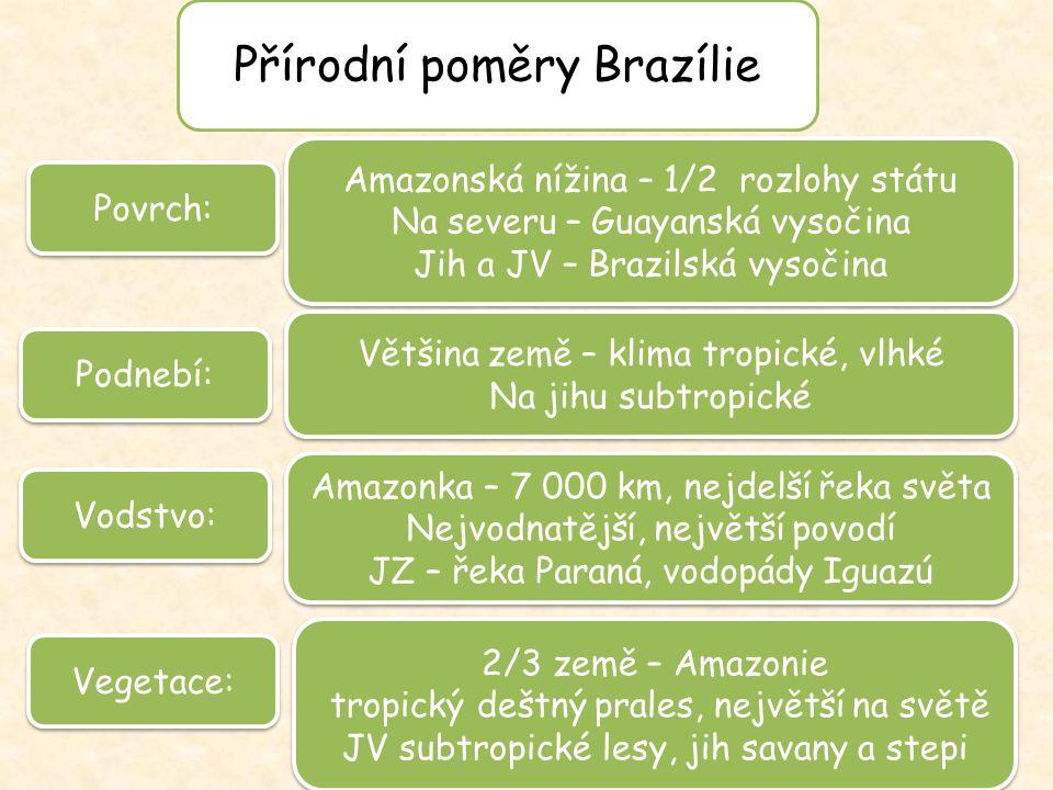 Přírodní poměry Brazílie