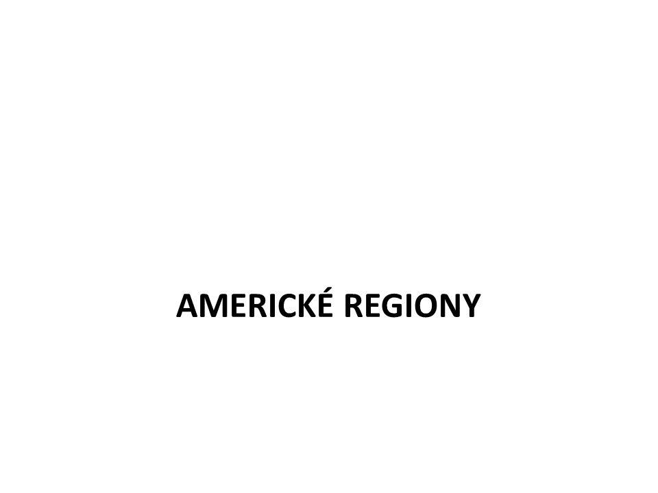AMERICKÉ REGIONY