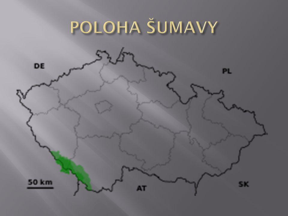 POLOHA ŠUMAVY
