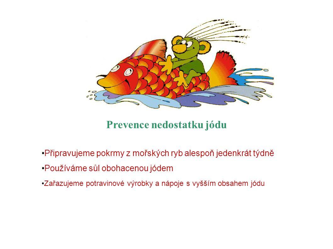 Prevence nedostatku jódu