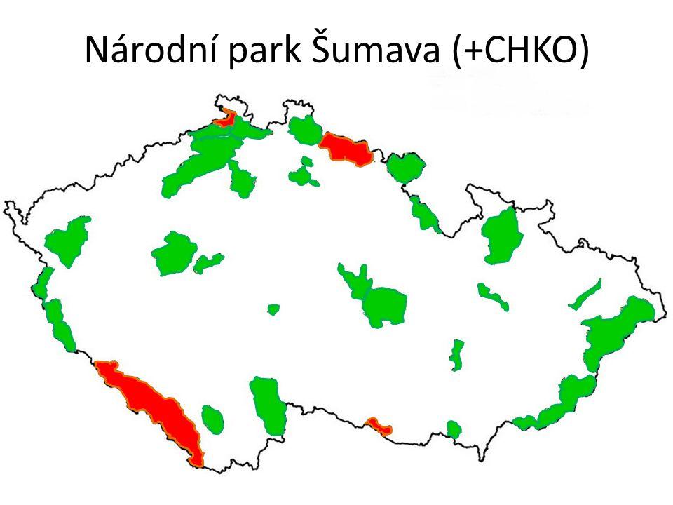 Národní park Šumava (+CHKO)
