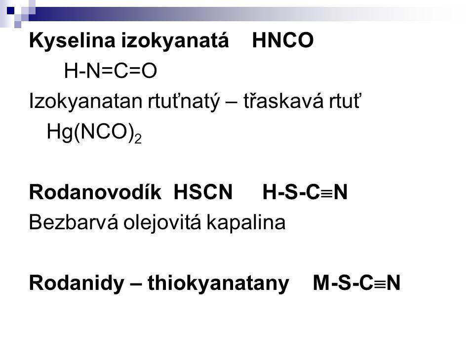 Kyselina izokyanatá HNCO