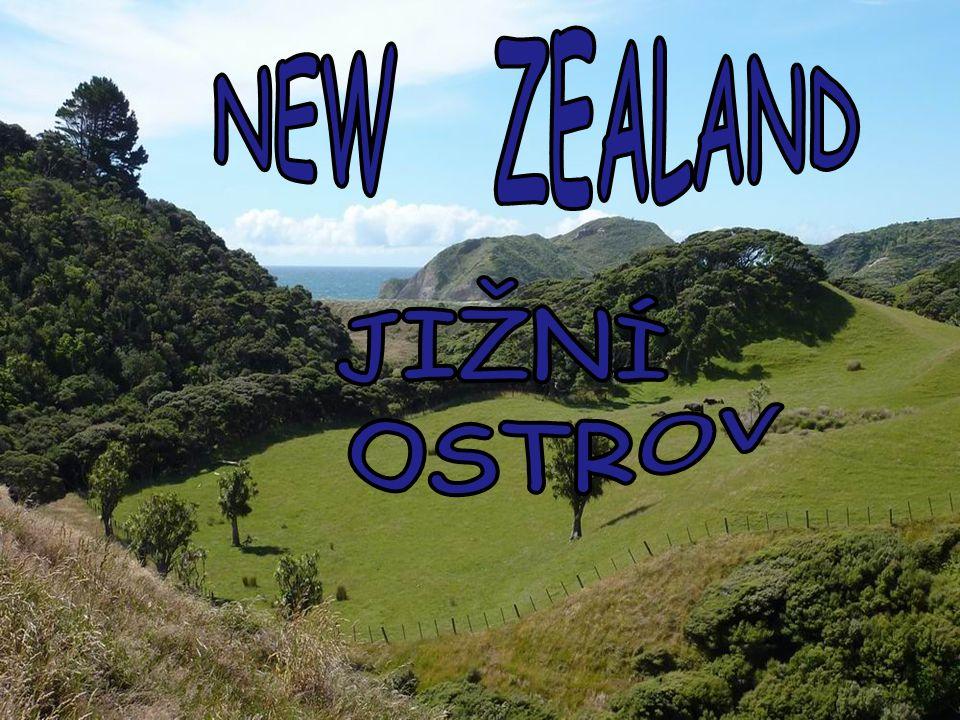 NEW ZEALAND JIŽNÍ OSTROV