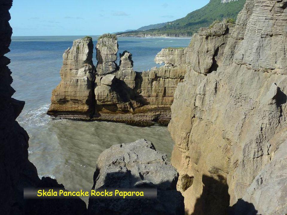 Skála Pancake Rocks Paparoa