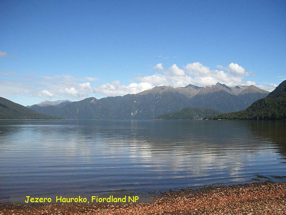 Jezero Hauroko, Fiordland NP