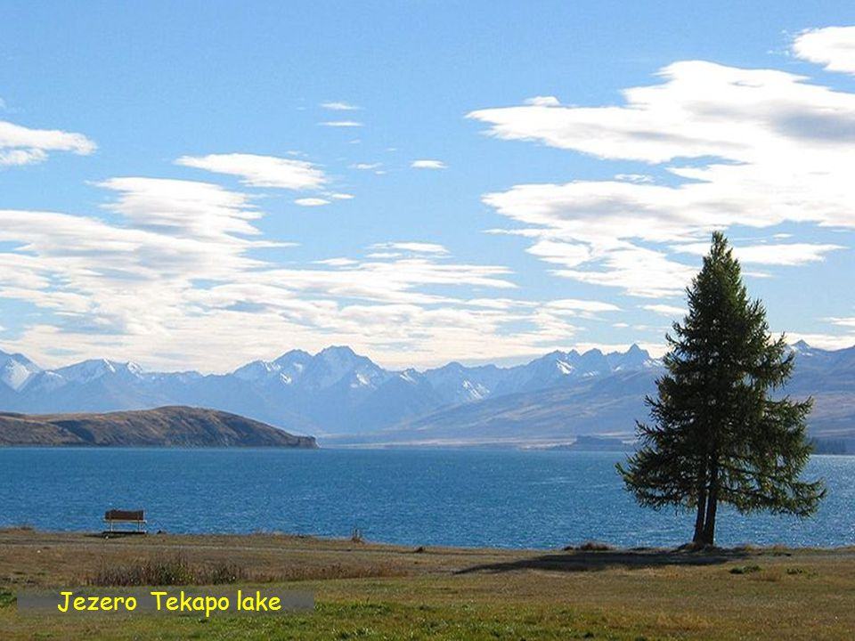 Jezero Tekapo lake