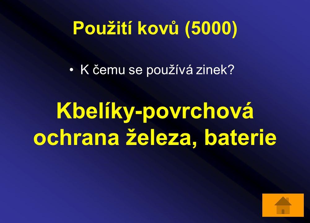 Kbelíky-povrchová ochrana železa, baterie