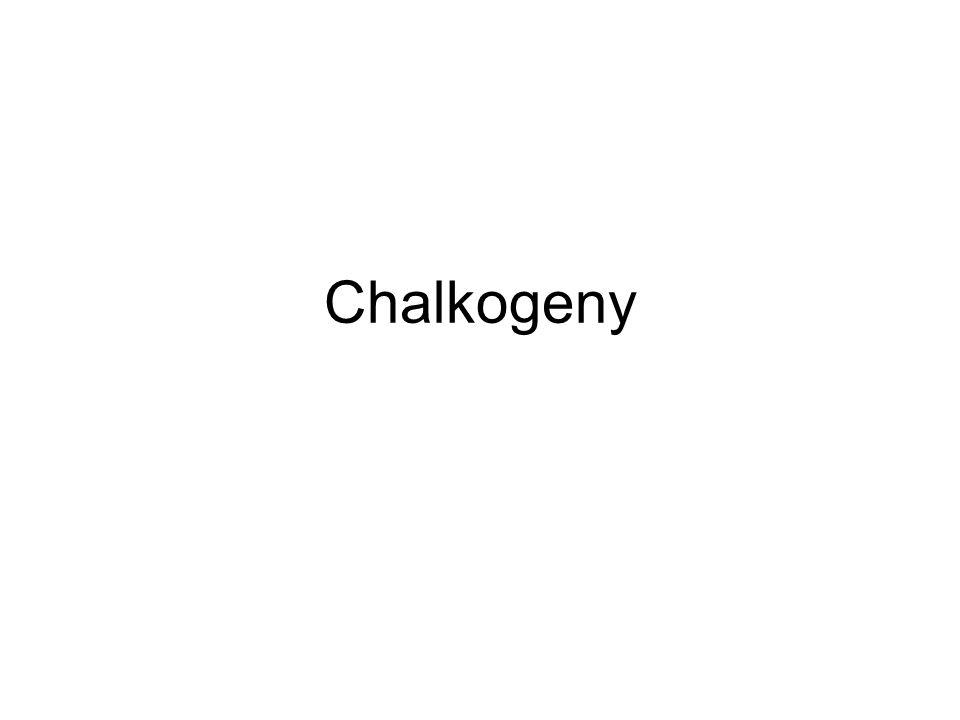 Chalkogeny