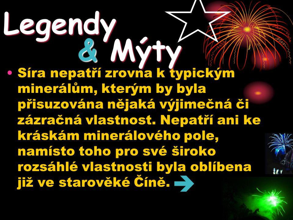 Legendy & Mýty.