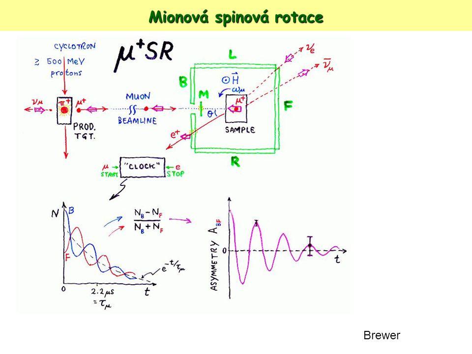 Mionová spinová rotace