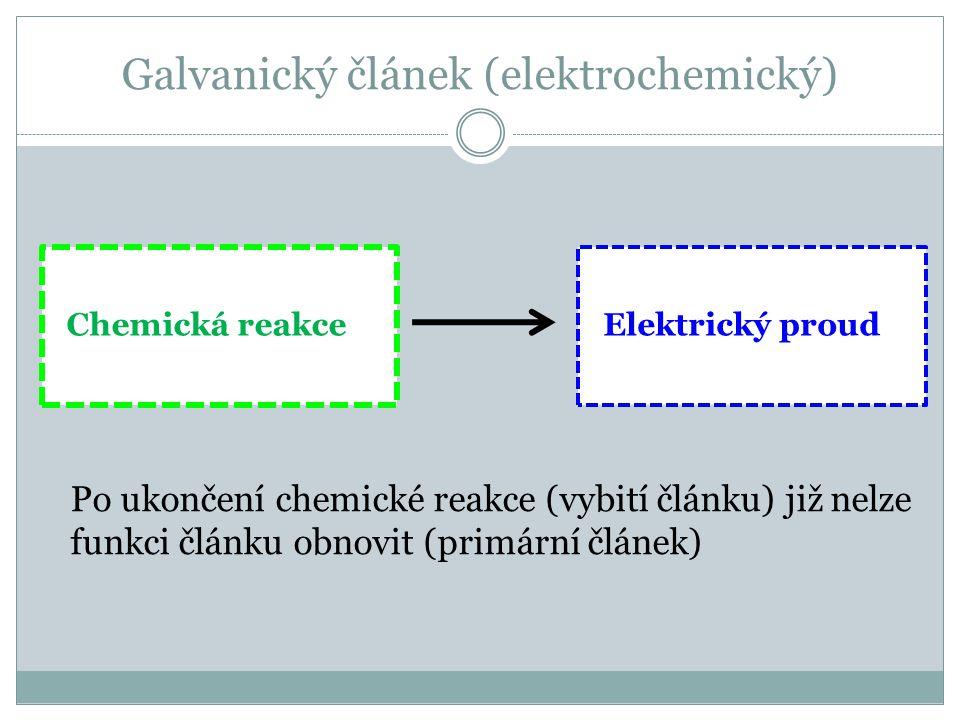 Galvanický článek (elektrochemický)