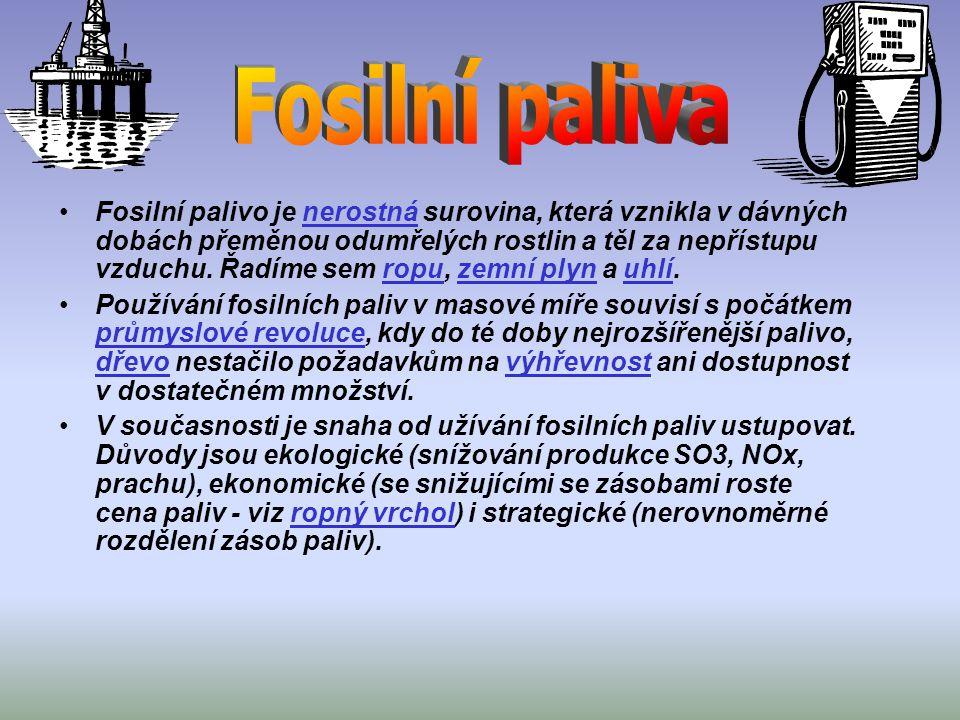 Fosilní paliva
