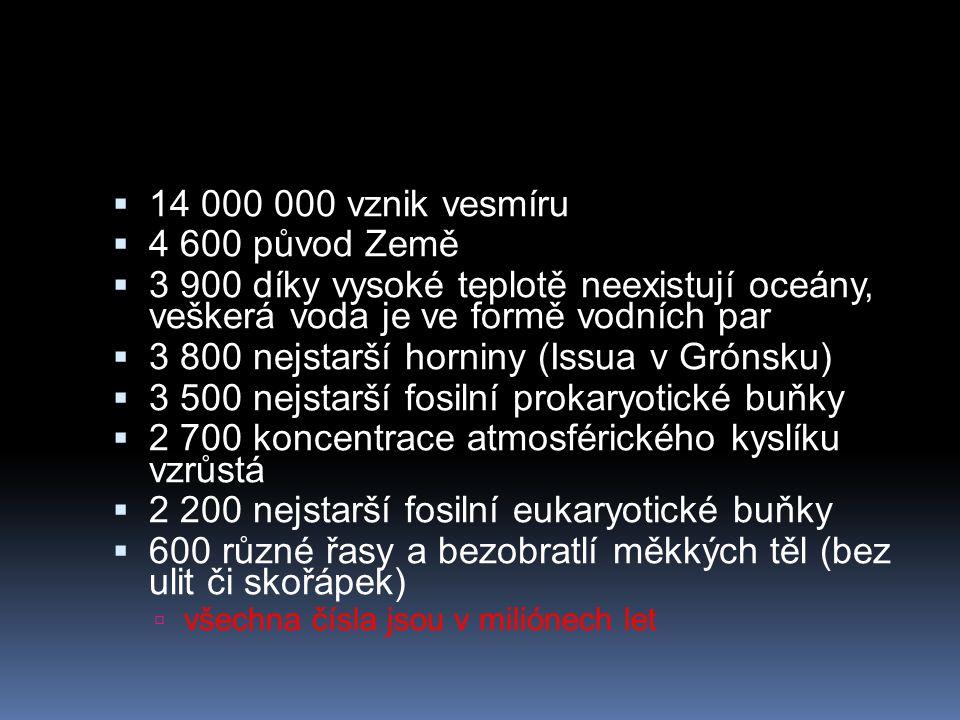 3 800 nejstarší horniny (Issua v Grónsku)