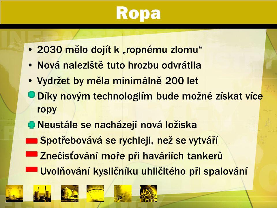"""Ropa 2030 mělo dojít k """"ropnému zlomu"""