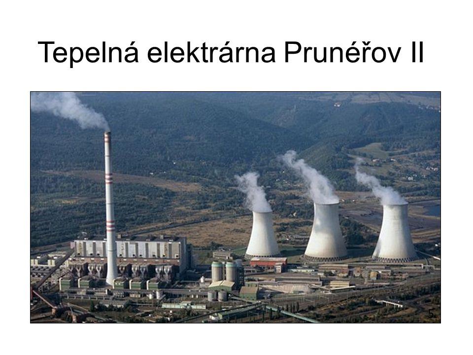 Tepelná elektrárna Prunéřov II