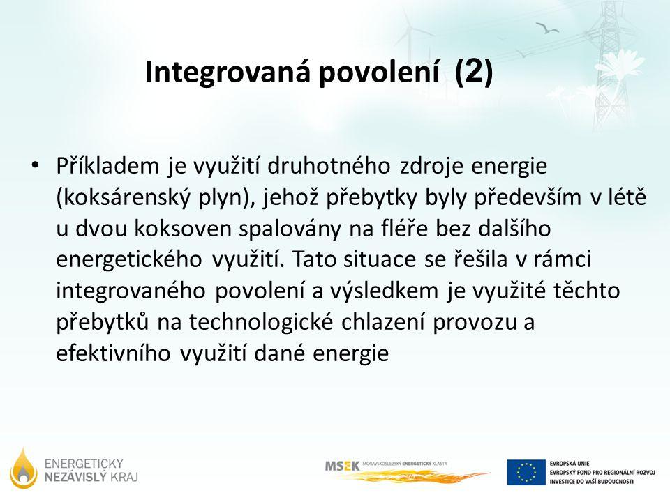 Integrovaná povolení (2)