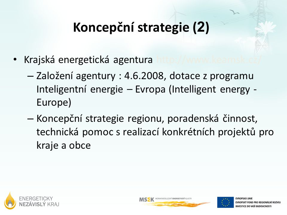Koncepční strategie (2)