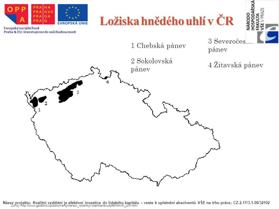 Ložiska hnědého uhlí v ČR