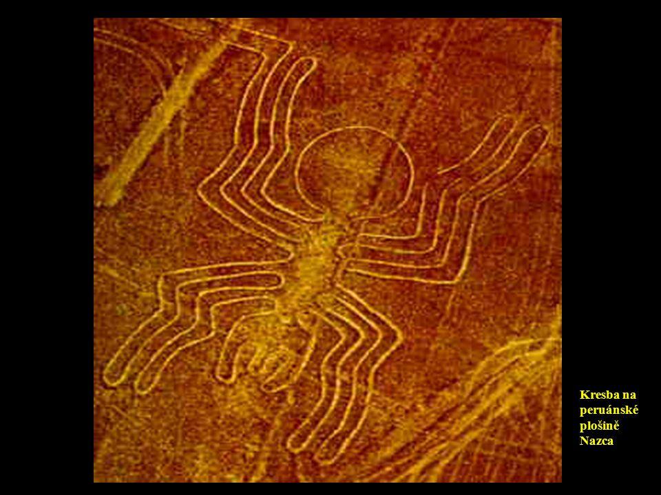 Kresba na peruánské plošině Nazca