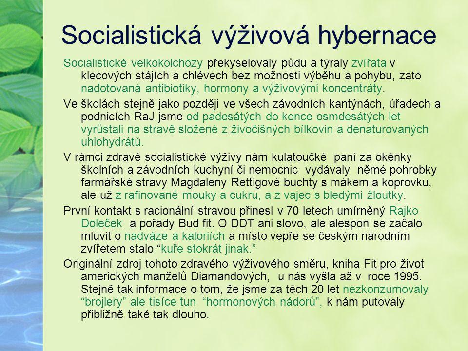 Socialistická výživová hybernace