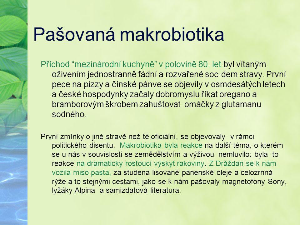 Pašovaná makrobiotika