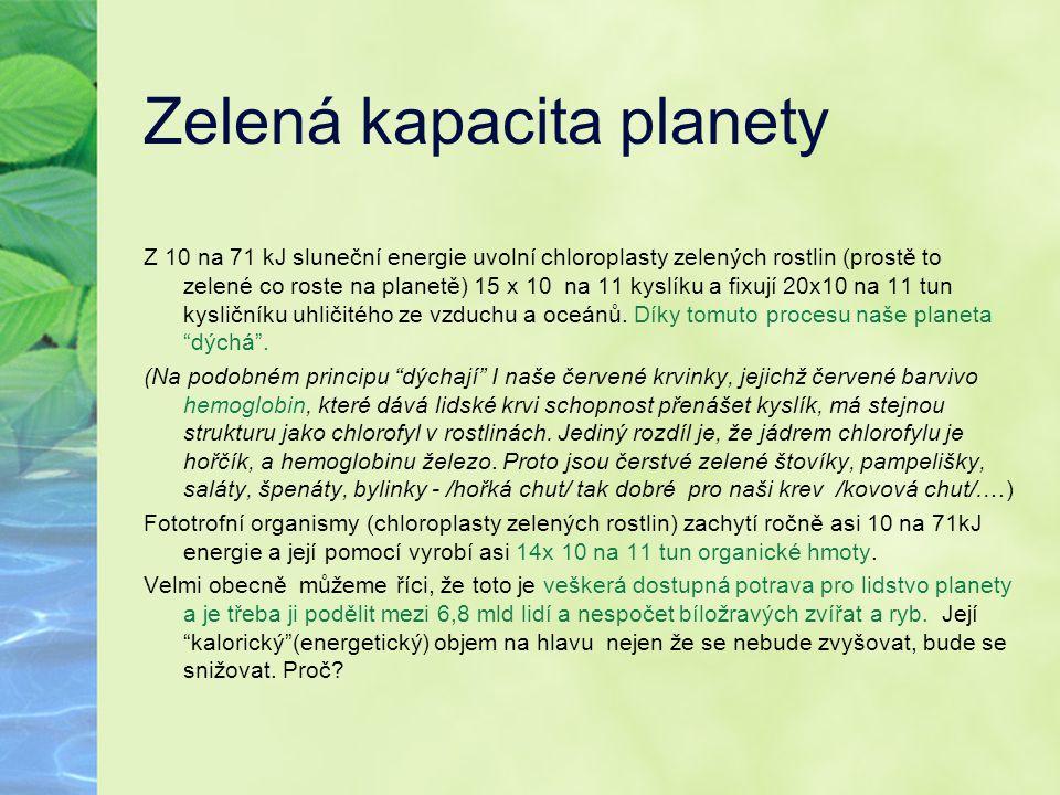 Zelená kapacita planety