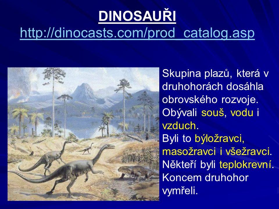 DINOSAUŘI http://dinocasts.com/prod_catalog.asp