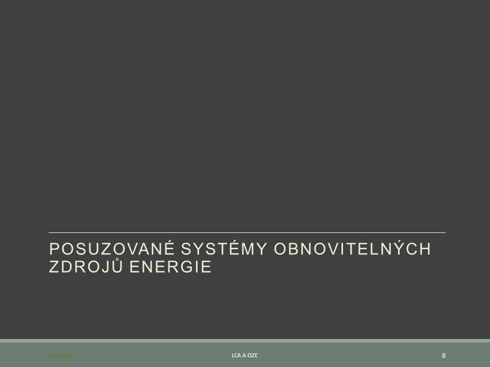 POSUZOVANÉ SYSTÉMY OBNOVITELNÝCH ZDROJŮ ENERGIE
