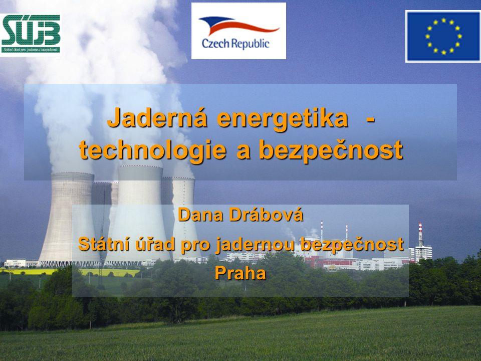 Jaderná energetika - technologie a bezpečnost