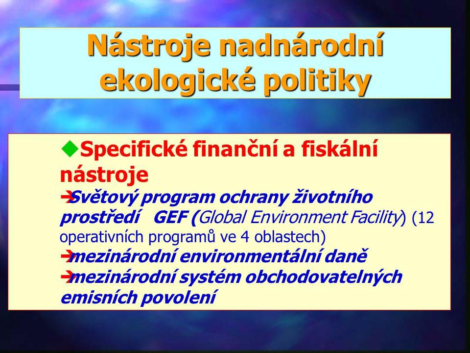 Nástroje nadnárodní ekologické politiky