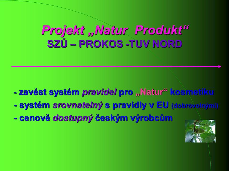 """Projekt """"Natur Produkt SZÚ – PROKOS -TUV NORD"""