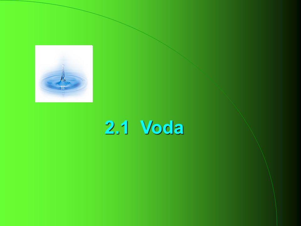 2.1 Voda