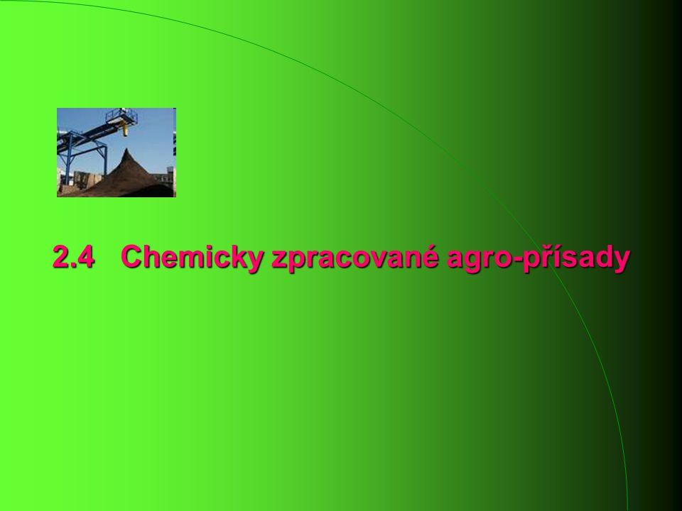 2.4 Chemicky zpracované agro-přísady
