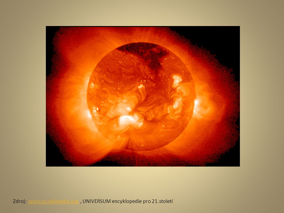 Zdroj: www.cs.wikipedia.org , UNIVERSUM encyklopedie pro 21.století