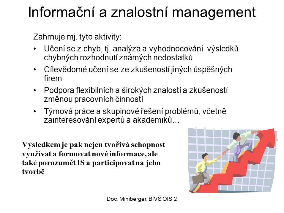 Informační a znalostní management