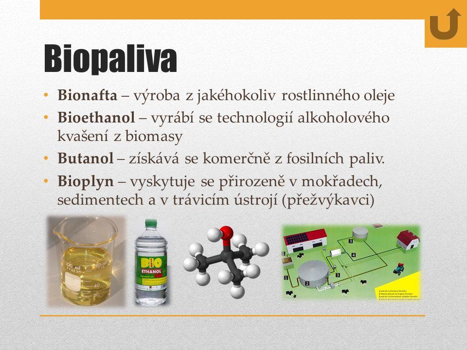 Biopaliva Bionafta – výroba z jakéhokoliv rostlinného oleje