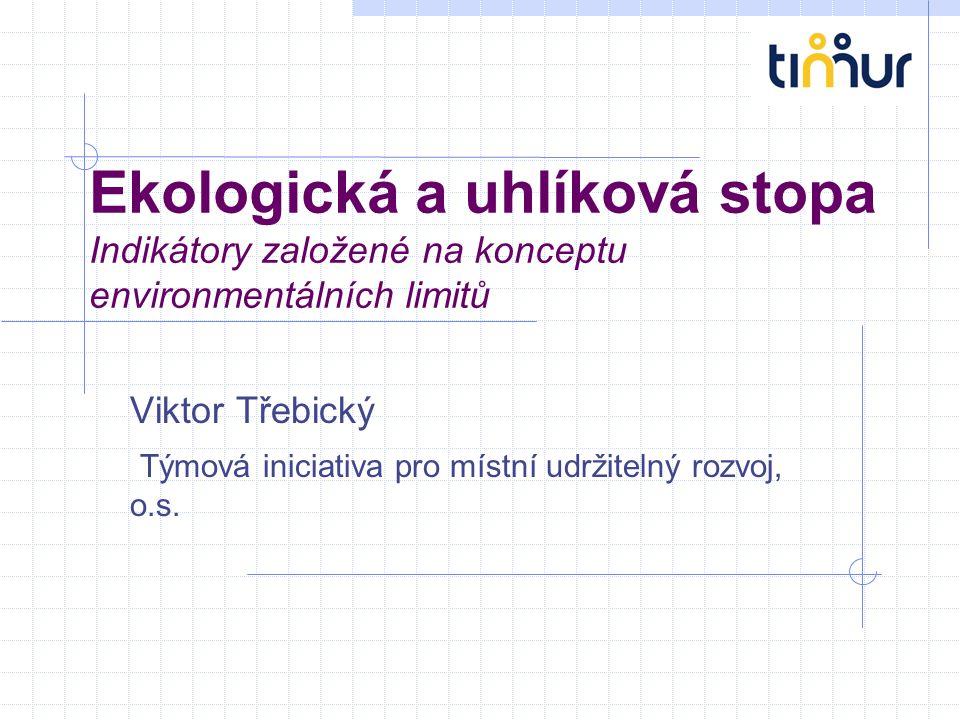Viktor Třebický Týmová iniciativa pro místní udržitelný rozvoj, o.s.