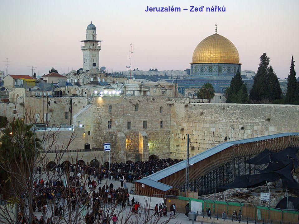 Jeruzalém – Zeď nářků