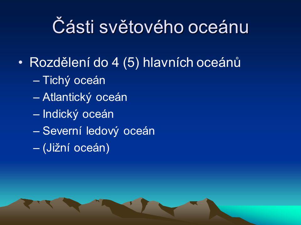 Části světového oceánu