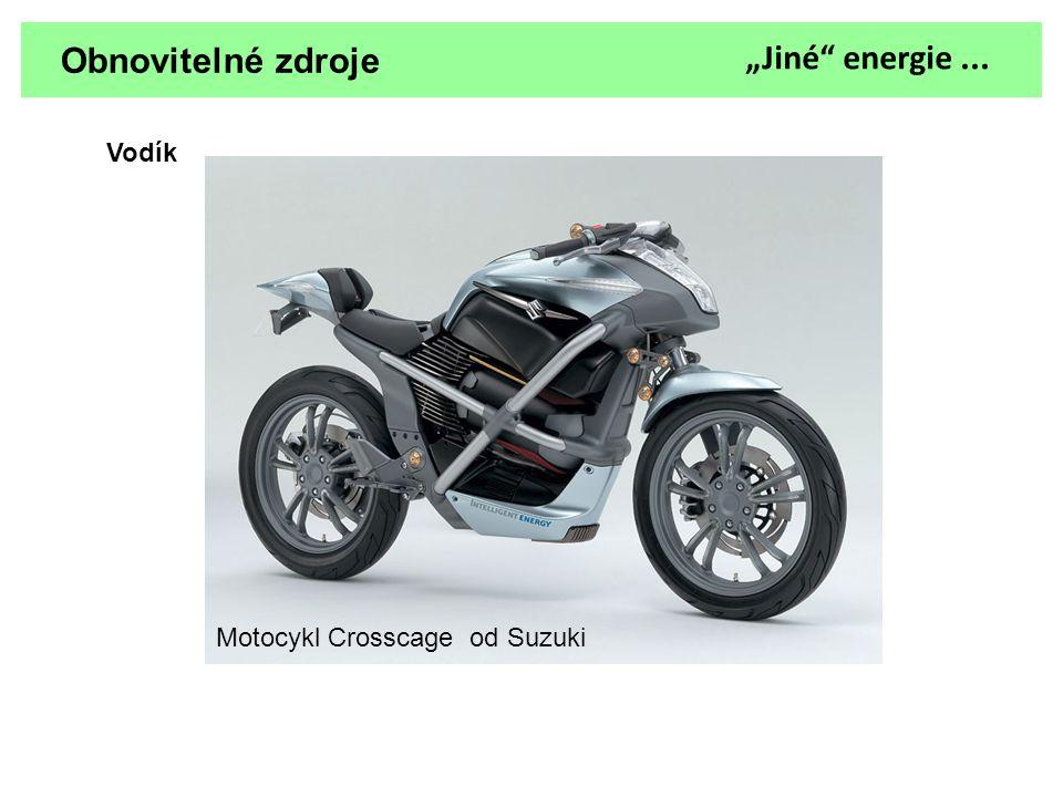 """Obnovitelné zdroje """"Jiné energie ... Vodík"""