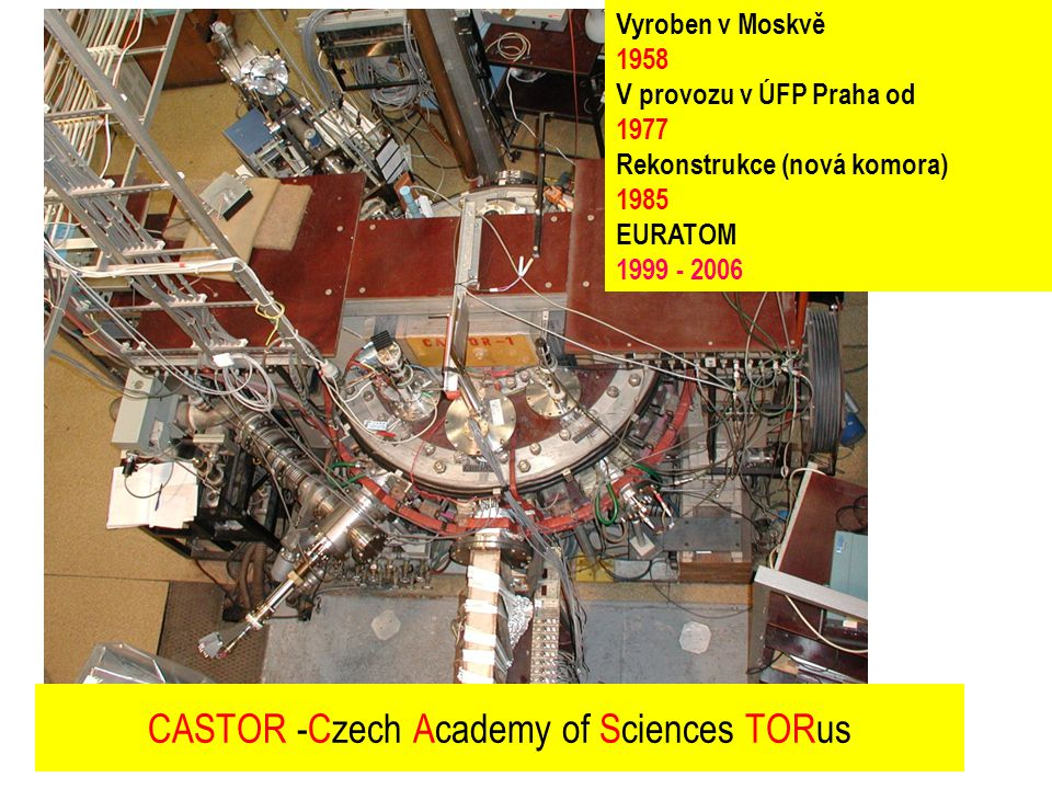 CASTOR -Czech Academy of Sciences TORus