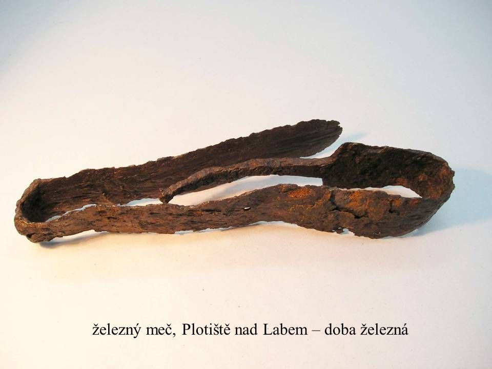 železný meč, Plotiště nad Labem – doba železná