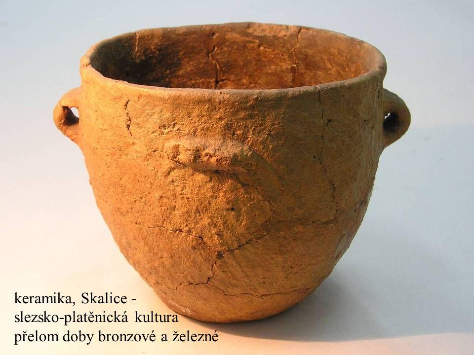 slezsko-platěnická kultura přelom doby bronzové a železné