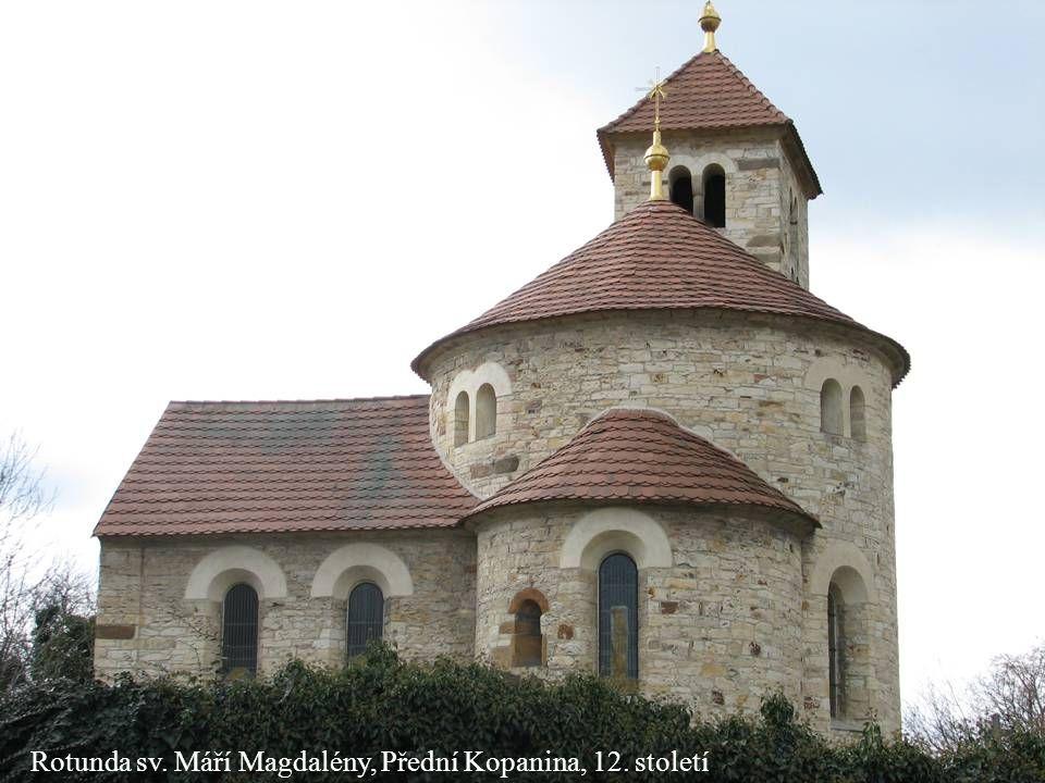 Rotunda sv. Máří Magdalény, Přední Kopanina, 12. století