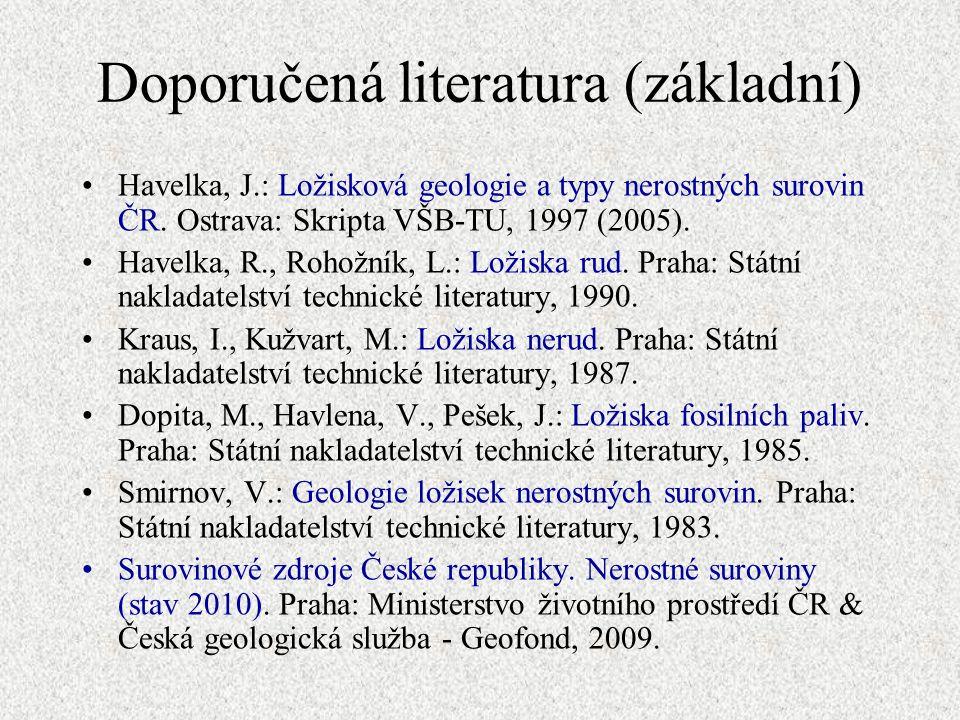 Doporučená literatura (základní)