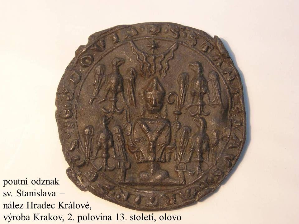 výroba Krakov, 2. polovina 13. století, olovo