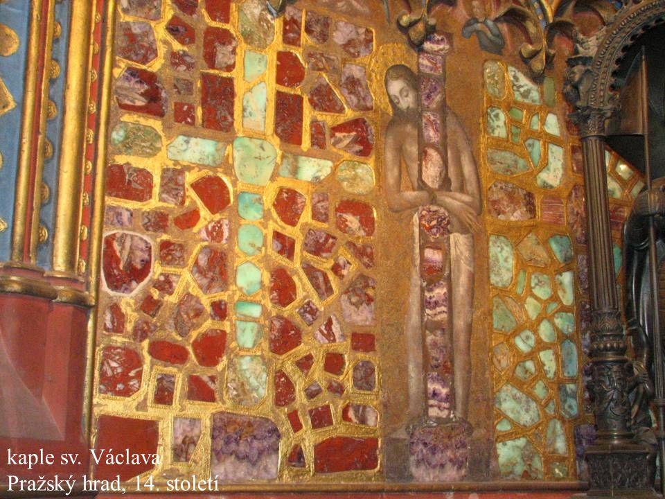 2007 kaple sv. Václava Pražský hrad, 14. století Jakub Jirásek