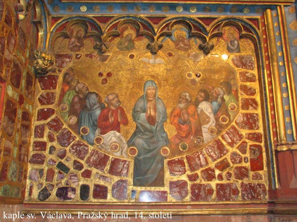 kaple sv. Václava, Pražský hrad, 14. století